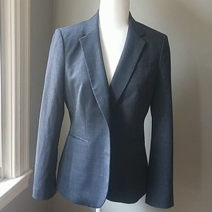 Banana Republic size 8 dark grey blazer